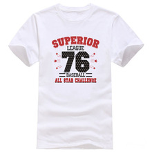 SUPERIOR LEAGUE BASEBALL ALL STAR CHALLENGE T Shirt Men Cotton Printed short sleeve man camisetas tees #913