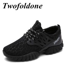Twofoldone 2017 New Mesh Sneakers Breathable Sports shoes Wholesale Shoes Athletic Sport Running shoes for Men