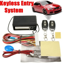 Car Styling Accessories Car Auto Remote Central Kit Door Lock Locking Vehicle Keyless Entry System With Remote Controllers