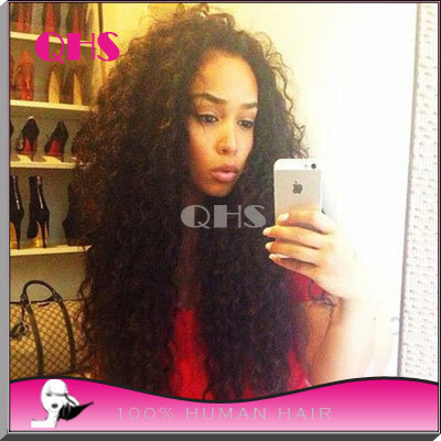 New Glueless Human Full Lace Hair Wigs For Black Women Brazilian Hair Kinky Curly Lace Front Wig 8-22inch Best Hair Wigs<br><br>Aliexpress