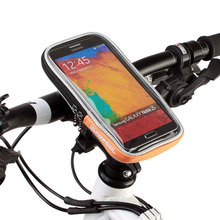 "4.2"" 4.8"" 5.5"" ROSWHEEL Bicycle Mobile Phone Case Touch Screen Bycicle Bike Handlebar Bag Panniers PVC Front Cycling Basket"