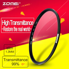Zomei Brand New 52mm 58mm Slim UV Ultra-Violet Professional Import Optical Glass Filter protector For Camera Lens(China)