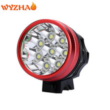 8-T6 LED 15000 lumens Bike lights headlight Mountain lights floodlight The searchlight Bicycle big  flashlight Super bright