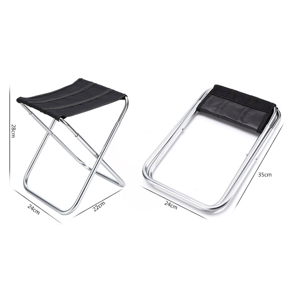 Portable Outdoor Fishing Folding Camping Chair with Oxford fabric and Aluminum Alloy for Garden,Camping,Beach,Travelling 5
