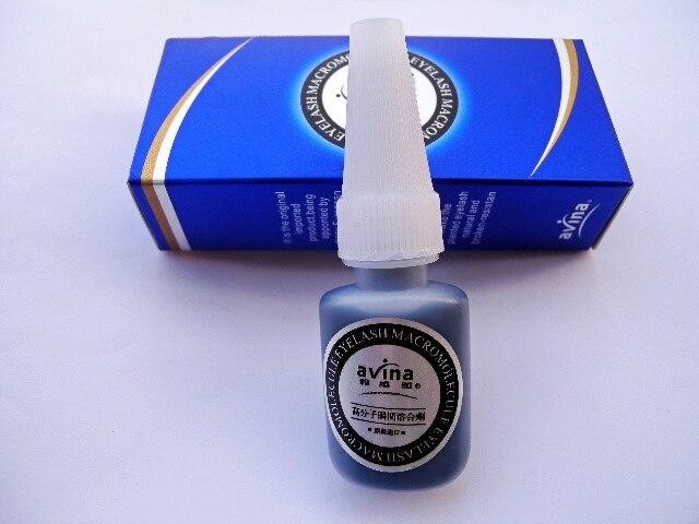 10 Pieces Professional   High quality Individual Eyelash Glue Eyelash Adhesive 10ml Black glue  Wholesale &amp; Freeshipping<br>