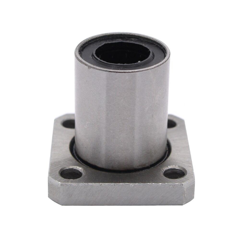 4pcs LMK12UU LMK12 12mm square flange linear ball bearing bushing for 12mm linear shaft guide rail rod round shaft cnc parts<br><br>Aliexpress