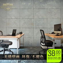 Free Shipping 3D Retro loft mural living room sofa TV lobby background wall tea shop coffee house study wallpaper mural