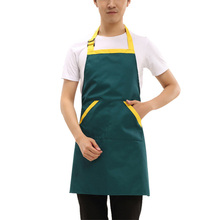 Popular Sale Long Chef Apron Unisex Kitchen Hotel Restaurant Chefs Uniforms Aprons Oil-Proof Working Pinafore