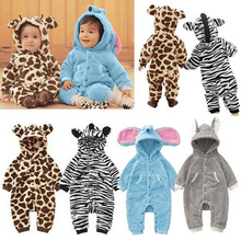 New Baby Kid Toddler Boys Girls Animal Onesie Romper Jumpsuit Fancy Costume High Quality(China)