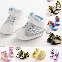 Newborn Baby Girl Shoes Cartoon Baby Sneakers Slipper Infants Toddler Crib Casual Shoes Lovely Superman Infant Boy Shoe Footwear(China)