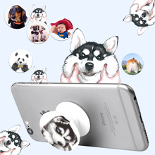 Cute Animal Universal Holder Expanding Stand Grip Mobile Pop Phone Socket Mount For Smartphone Tablets For iPhone Xiaomi Samsun