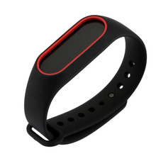 Buy Watch Strap Watch Band Replacement Silica Gel Wristband Band Strap Xiaomi Mi Band 2 Bracelet Miband 2 Strap Hours for $0.75 in AliExpress store