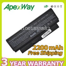 Apexway 2200mAh battery for HP Presario CQ20 CQ20-100 CQ20-200 CQ20-300 482372-322 482372-361 493202-001 HSTNN-OB77 HSTNN-XB77(China)