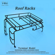1:10 Adventure Defender Simulation Roof Racks for AXIAL SCX10 D90 Crawler Luggage Rack Tray Climbing RC Car