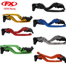 FXCNC 3D Foldable Moto Brake lever Motorcycle Clutch Lever Yamaha TDM 850 1991-2002 XJ600 N S 1995-2003 92 93 94 95 - motorcycle2016 store
