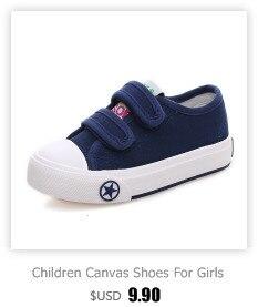 Enfants chaussures pour fille enfants toile chaussures garçons 1