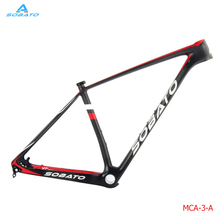 Chinese cheap Carbon mtb frame 29er ud 15.5/17/18.5/20inch bicicletas mountain bike 29er racing used bikes bicycle frame