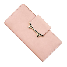 Hot Leather Wallets Women Wallet Long Designer Coin Purses Female Clutch National Credit Card Holder Solid Overwatch Hasp Girl