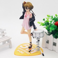 Anime K-ON! Tainaka Ritsu 5th drum Ver PVC Action Figure Collectible Model doll toy 19cm(China)