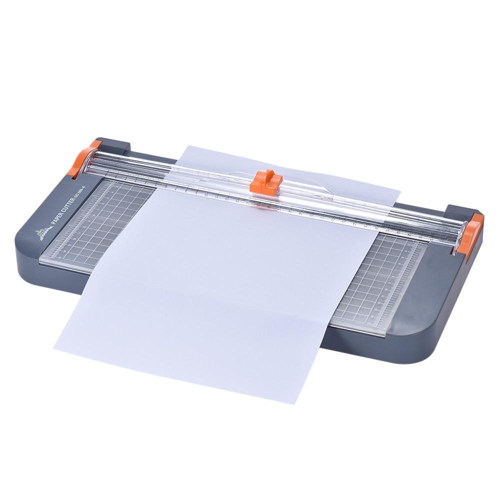 Safety Small Paper Cutter A4 Cutter Art Trimmer Photo Cutter Tool Office Supply