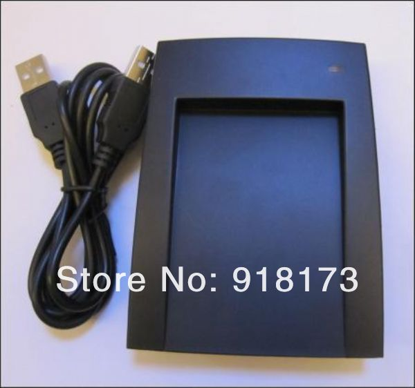 13.56Mhz Contactless Smart Card keyfob USB reader writer copier ISO14443A Ultralight + 5pcs M1 card + software<br>
