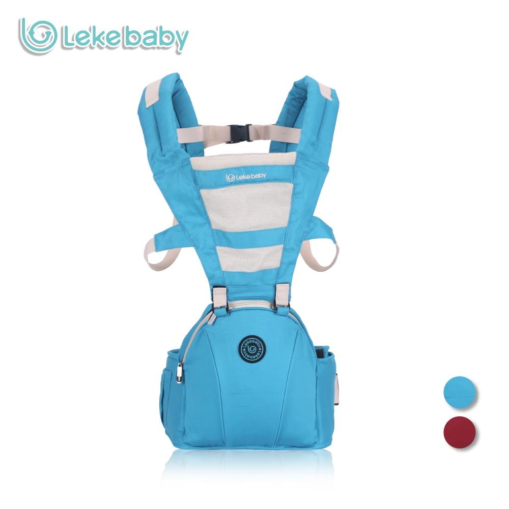 Lekebaby Breathable Baby Carrier Hipseat Ergonomic Newborn Carrier Soft Infant Hip Carrier <br>
