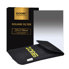 "Zomei 150*100mm Graduated ND Square Filter G.ND2/ND4/ND8/ND16 Neutral Density Filter For Cokin-Z Lee Hitech 4x4"" 4x6"" Holder"