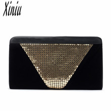 Xiniu Top Handle Bags Fashion Women Clutch Dazzling Sequins Glitter Handbag Evening Bag Purse Sacos Senhoras Women Bag Bolsas
