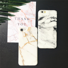Fundas Marble Case for iPhone 7 Case Fashion Granite Stone Back Cover Soft TPU Phone Cases for iPhone7 6 6S Plus(China)