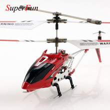 Wholesale Mini Drones 3CH RC Flying Toy Gyro Radio Control Metal Alloy Fuselage RC Helicoptero Mini Copter Toys VS S107G S107