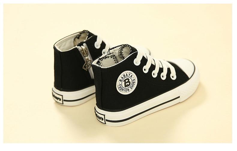 Enfants chaussures pour fille enfants toile chaussures garçons 31