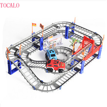 2 Types Thomas and Friends Electric Railing Car Toy Track Diecast for Kids Railway Trains Children Best Christmas Gift(China)