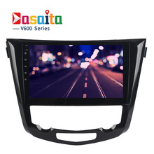 "Dasaita 10.2"" Android 6.0 Car GPS Player for Nissan X-Trail 2014-2017 with Octa Core 2GB Ram Auto Radio Multimedia NAVI 4G LTE(China)"