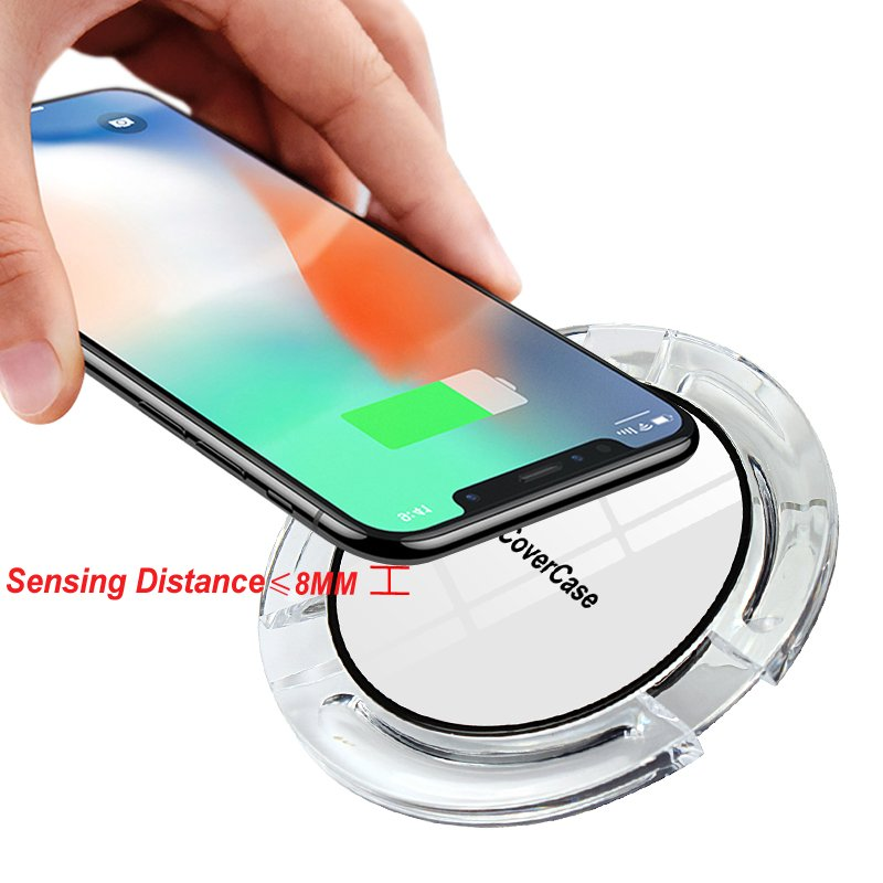 Wireless Charger For Samsung Galaxy Note 5 S7 S6 Edge Charging Power Bank Phone Accessory Pad For Samsung Galaxy 5 S6 S7 Charger 2