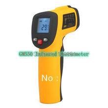 New Digital IR Thermometer Non-Contact Infrared Laser Point GM550 -50~550C Use For Industrial Temperature Test Free Shipping(China)