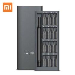 Xiaomi mi jia Wiha 24 в 1 прецизионный изысканный набор отверток 60HRC магнитные биты Xiao mi домашний Ремкомплект, инструменты ручная работа оригинальный