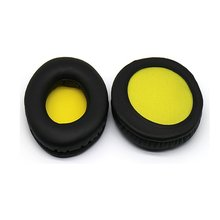 Yellow Replacement Earpads Cushion For Skullcandy Hesh 2 1.0 2.0/ HESH Bluetooth Wireless with Mic Headphones(China)