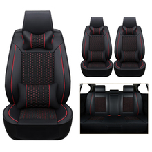 Soft (leather+silk) car Seat Covers For Benz A B C D E S series Vito Viano Sprinter Maybach CLA CL cars accessories-styling auto