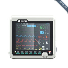 CMS6000A 3-Parameter EG, NIBP, SPO2 Patient Vital Signs Monitor TFT 8'4 inch Medical Holter Machine  Wholesale price