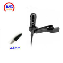 Professional Lavalier 3.5mm Stereo Condenser Microphone Mini Camera Microfone for Computer Laptop Noise Canceling