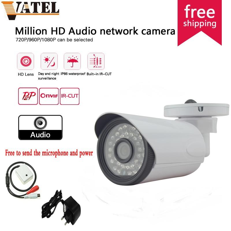 SONY322 HD Audio IR IP Camera 720p/960p/1080p Surveillance Camera IP Waterproof Night Vision Home Security Camera System<br><br>Aliexpress