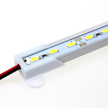 Easy Use With Male Female Connect 36 5630 SMD LED Bar Light Lamp 50cm With U Aluminum led Cabinet Light LED Rigid Strip