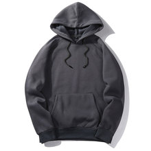 Brand Hip Hop Hoodies Coat Solid Autumn Good Quality Mens Hoodie Sweatshirt Pullover Fashion Sportswear Spring Outerwear EUR Siz(China)