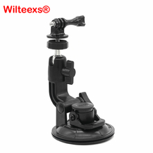 WILTEEXS 9CM Multi-Purpose Suction Cup Universal Car Holder Adapter Mount with Screw for Hero 5/4/3+/3 SJ Xiaoyi 2 Camera(China)