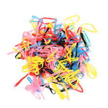 250-300pcs/lot Mix Color Rubber Hairband Rope Ponytail Holder Elastic Hair Band Ties Braids Plaits Hair Accessories