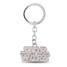 2017 New Film STARWARS Logo Keychains Metal Star Wars Key Holders For Men Best Friends Sleutelhanger Porte Clef Anime Jewelry