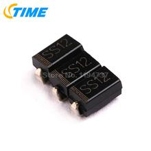 500PCS 1N5817 MARKING SS12 SMA DIODE SCHOTTKY 20V 1A