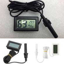 Professional Mini Probe LCD Digital Thermometer Hygrometer Temperature Humidity Meter Digital Display