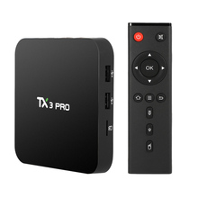 TX3 Pro Smart Android TV Box Android 6.0 Amlogic S905X Quad-core 64bit 4K 1G / 8G PC WiFi Airplay Miracast Media Player PK X96(China)