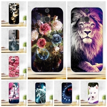Case For HTC One M8 M8s Soft Silicone Back Cover For HTC One M8S M8 Fashion 3D Printing Couque Bags Capa For HTC M8 m8 Fundas(China)